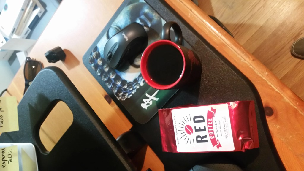 red coffee review