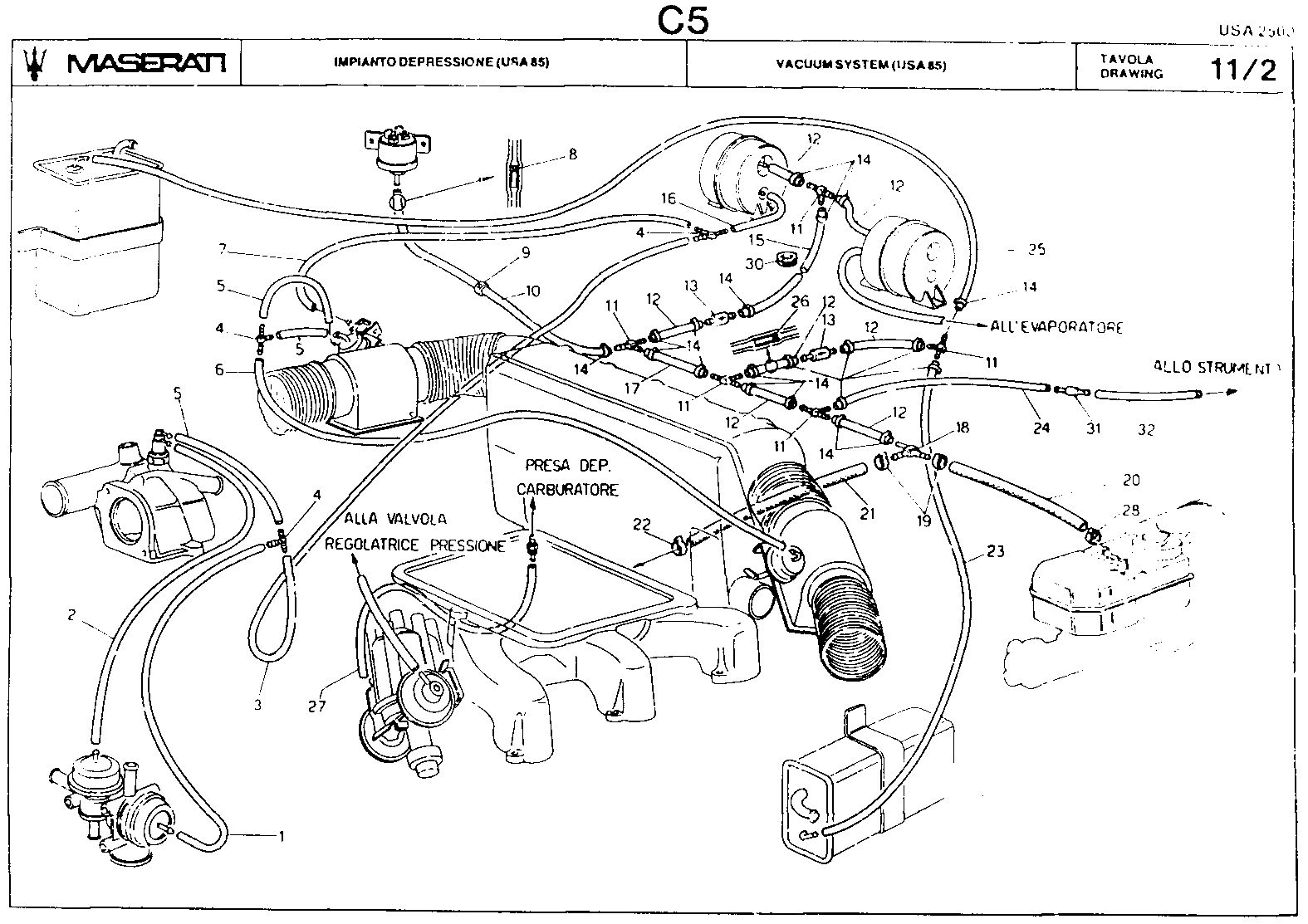 maserati biturbo wire diagram
