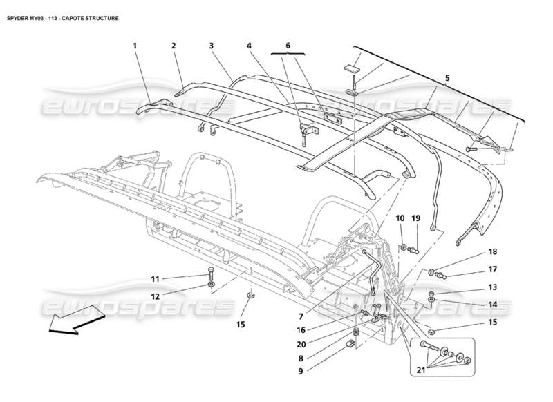 chrysler crossfire exhaust diagrams
