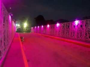 Puente de los suspiros rosa