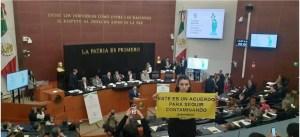 Senado greenpeace industria plastica