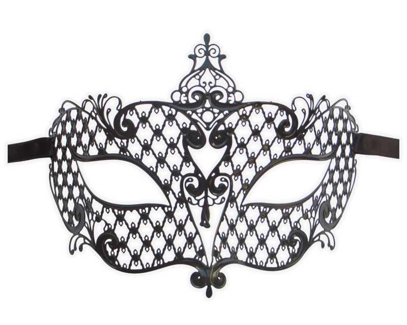 Metal Filigree Masquerade Mask for Ladies \u0027Countess\u0027  Mask-Shop - masquerade mask template
