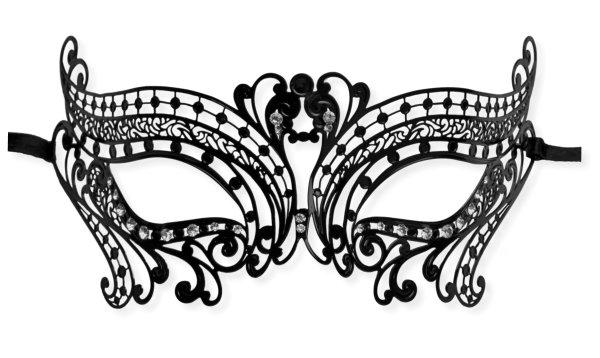 Party Girl\u0027 Mask Filigree Metal  Mask-Shop - masquerade mask template