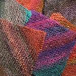 Squares, Noro, and Birds - 1