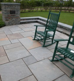 Small Of Blue Stone Patio
