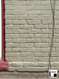 Painted Brick - The Masonry of Denver