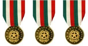 medaglie al valore