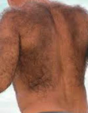 uomo peloso