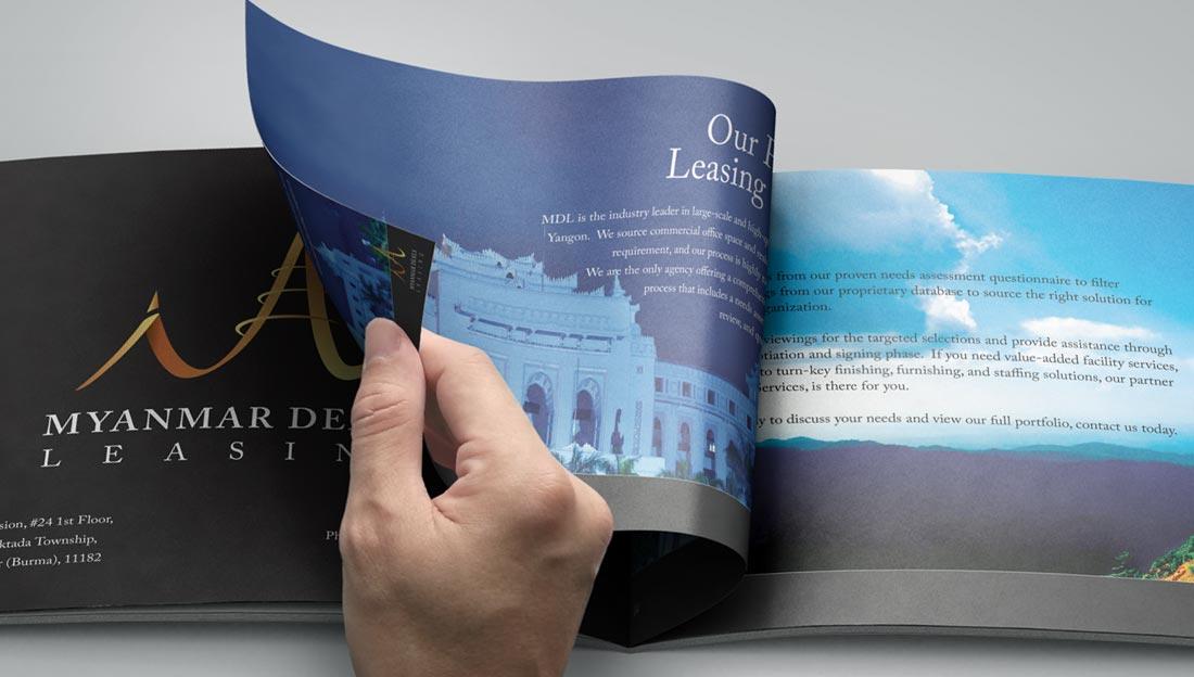 brochure beauty
