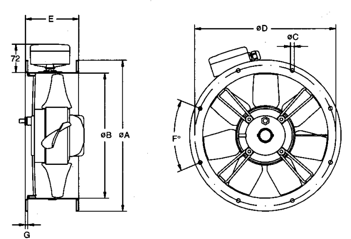 ziehl abegg axial fan wiring diagram