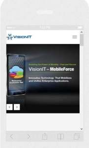 staffing website responsive design