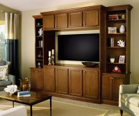 Living Room Cabinet in Birch Wood - MasterBrand