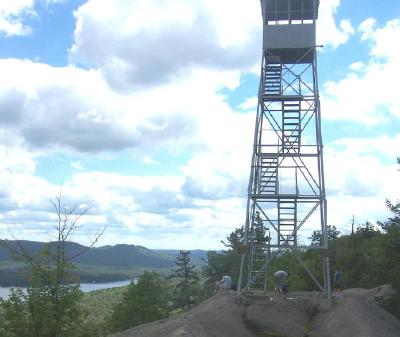 Bald Mountain Fire Tower - Old Forge, NY