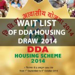 Waiting List of DDA 2014 Housing Scheme Draw