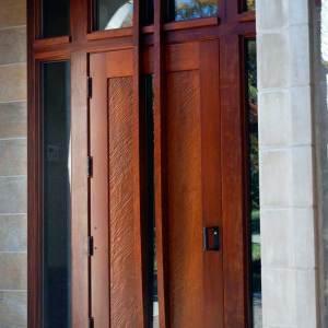 Chatham University Door