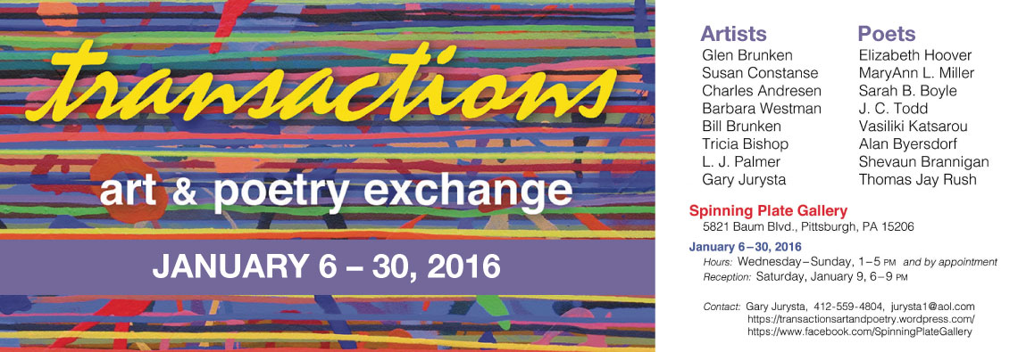 Transactions - Art and Poetry Exchange