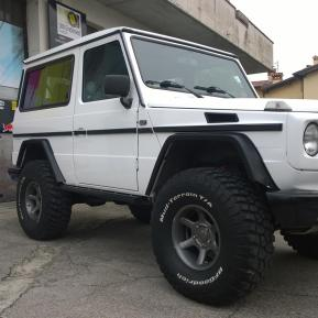 WRAPPING JEEP MERCEDES