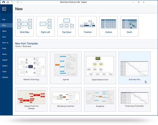 MindView Product Features