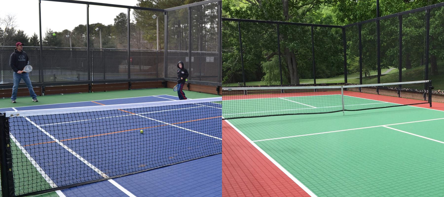 Modular Flooring For Outdoor And Indoor Courts Mateflex