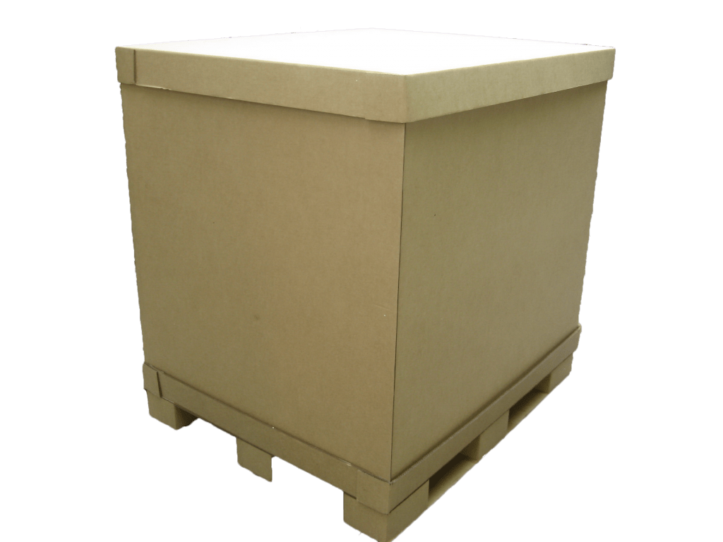 Bulk Box with paper pallet