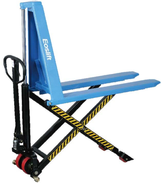 I 15 Scissor Pallet Truck Capacity 1500 KG Lifting height 800 mm