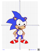 Graphing Cartoon Characters