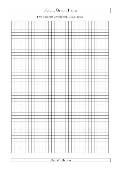 printable metric graph paper