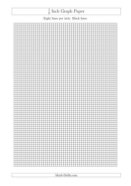 1 inch printable graph paper