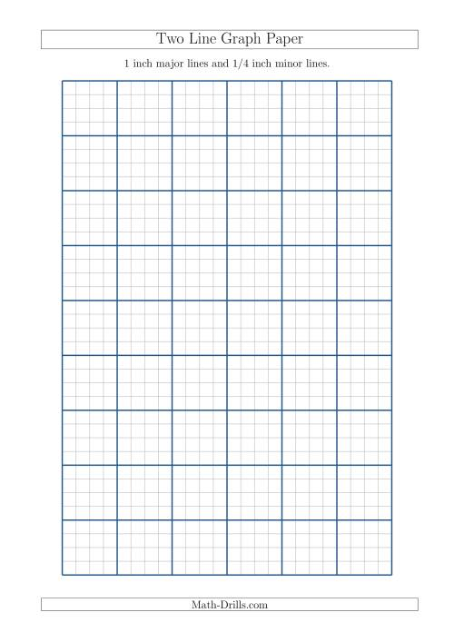 4 inch graph paper