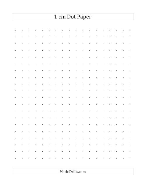 dotted graph paper