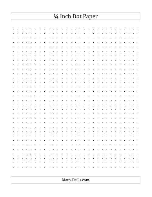 quarter inch graph paper to print