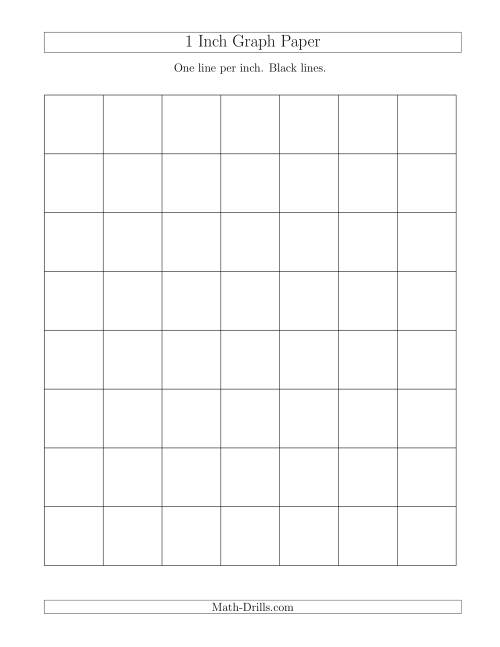 inch graph paper printable