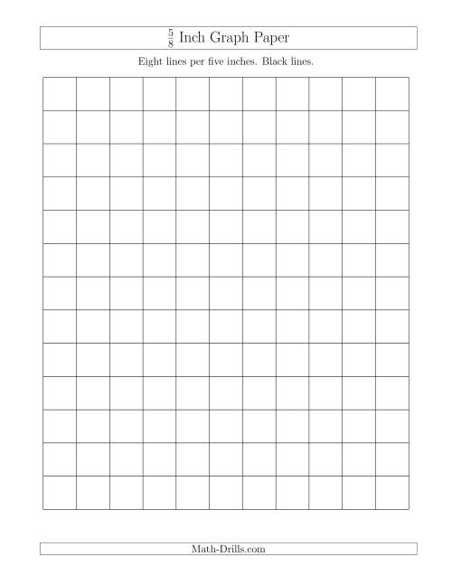 i inch grid paper