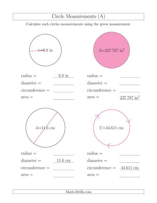 Quiz Worksheet Semicircle Perimeter Area Formulas Study John Is Painting A  Sign Of Rising Sun Which