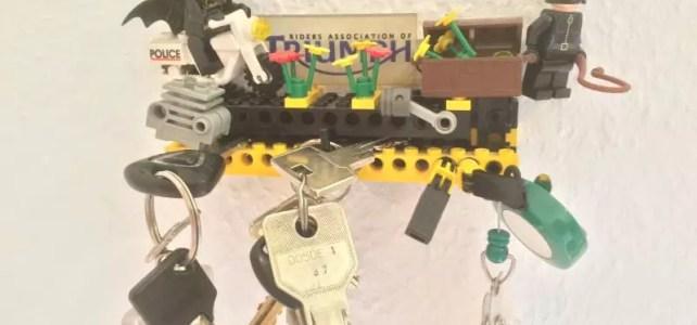Der etwas andere Schlüsselhalter aus LEGO – Anleitung