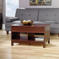 Rectangular Lift-Top Traditional Coffee Table in Cherry ...