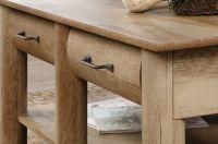Rectangular Traditional Coffee Table in Craftsman Oak ...