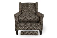 Traditional Wingback Recliner in Gray | Mathis Brothers ...