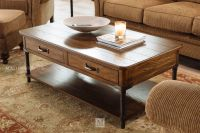 Rectangular Traditional Cocktail Table in Oak | Mathis ...