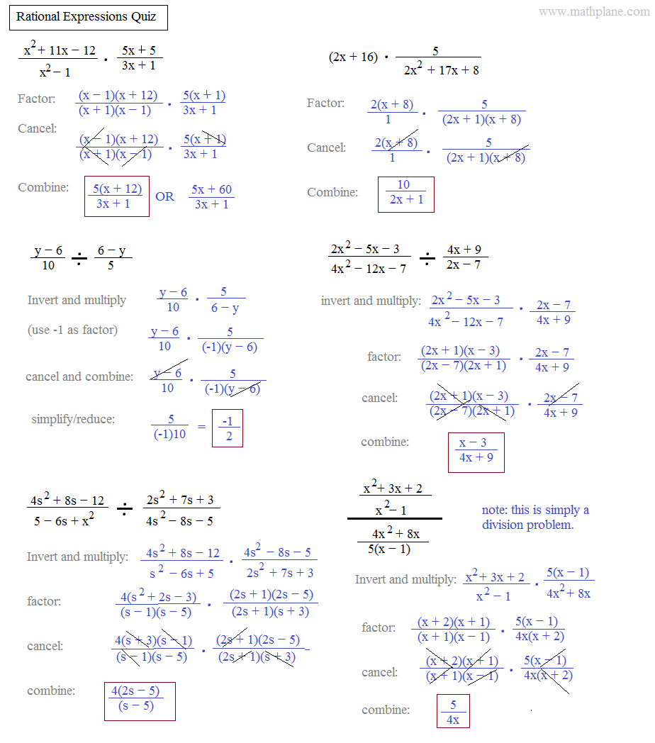 worksheet Rational Expressions Worksheet simplifying rational expressions worksheet with answers delibertad delibertad