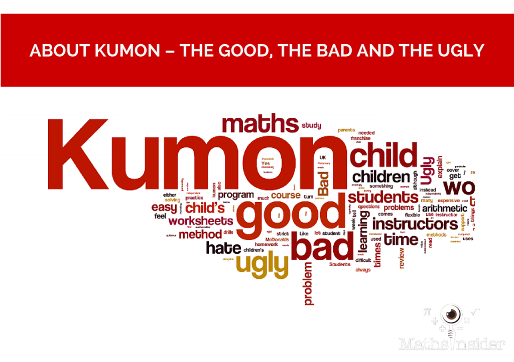 About Kumon The Good The Bad And The Ugly