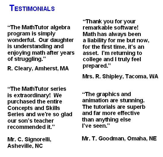 Business Math Learning Software Math Tutor Inc - business math