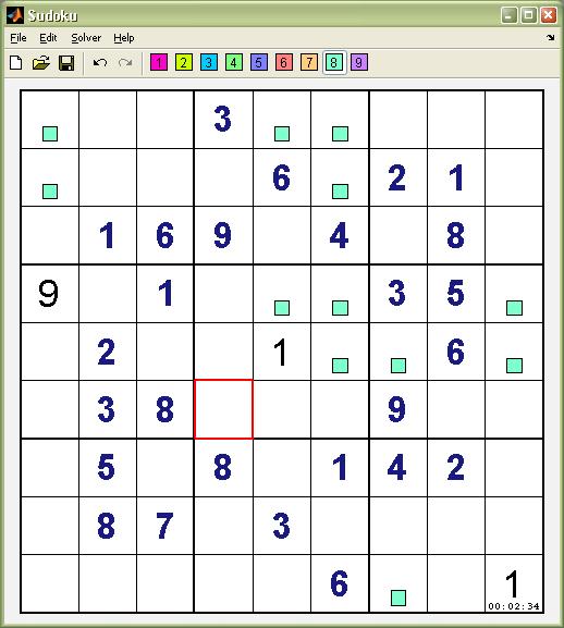 Sudoku (Dancing Links Solver) - File Exchange - MATLAB Central