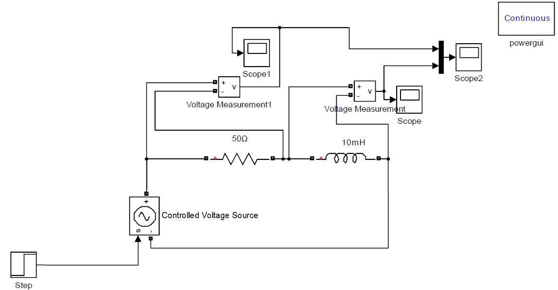 step response of an rlc circuit