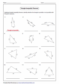All Worksheets  Triangle Worksheets - Printable ...