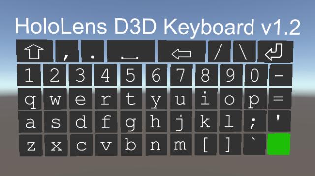 D3D Keyboard