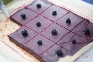 Vegan chocolate tray bake
