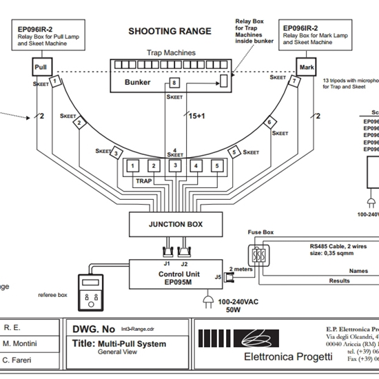 Briley MFG - Wiring Schematic for Olympic Bunker and Skeet