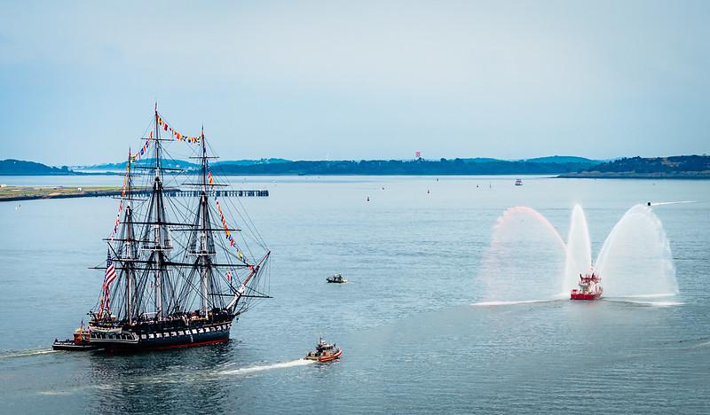 USS Constitution Turnaround July 4th