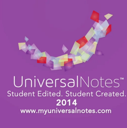Universal Notes 2014 Promotional Video
